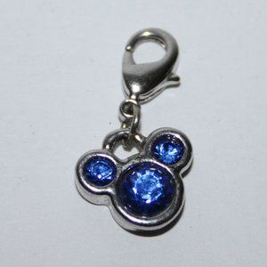 Beautiful silver Sapphire september Dinsey Charm